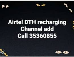 Airtel DTH recharging and channel add
